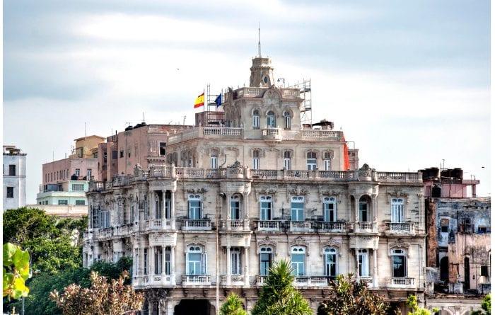 Consulado de España en La Habana.