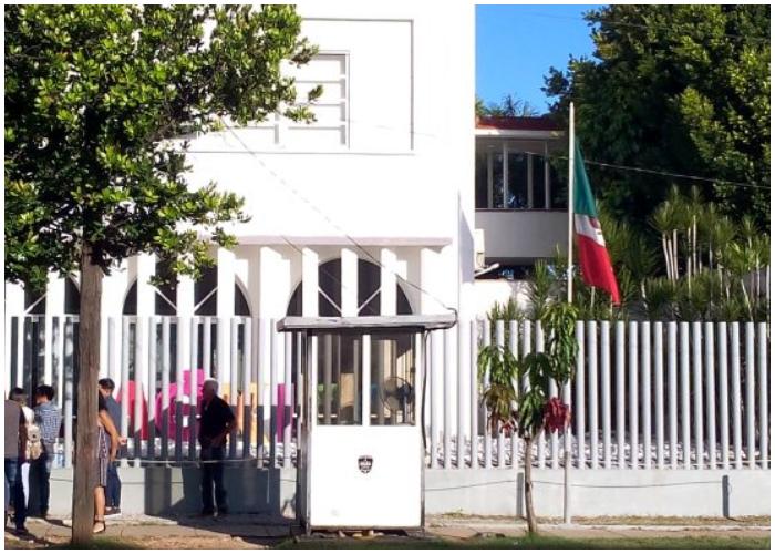 Consulado de México en Cuba.
