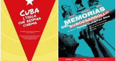 Cuba estará presente en Festival Isola del Cinema.