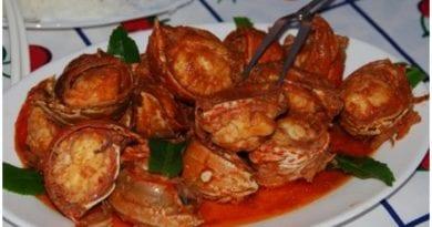 Delicioso enchilado de langosta al estilo cubano.