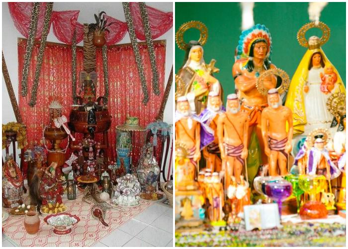 La Santería es producto del sincretismo religioso en Cuba.