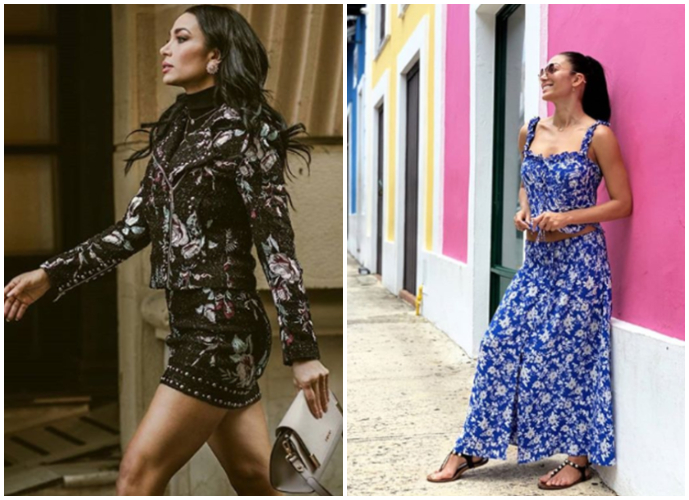 La modelo Lisandra Silva ha tenido gran éxito profesional desde su llegada a Chile.
