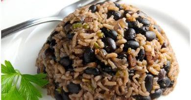 Moros y Cristianos, una delicia de la gastronomía cubana.