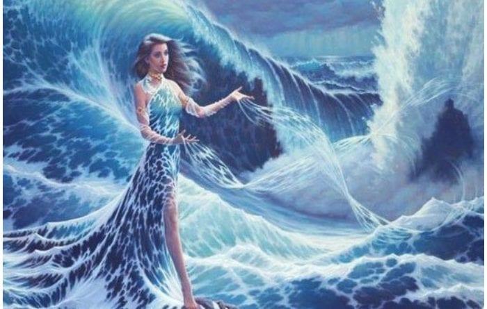 Yemayá, madre de todos y dueña del mar y las aguas.