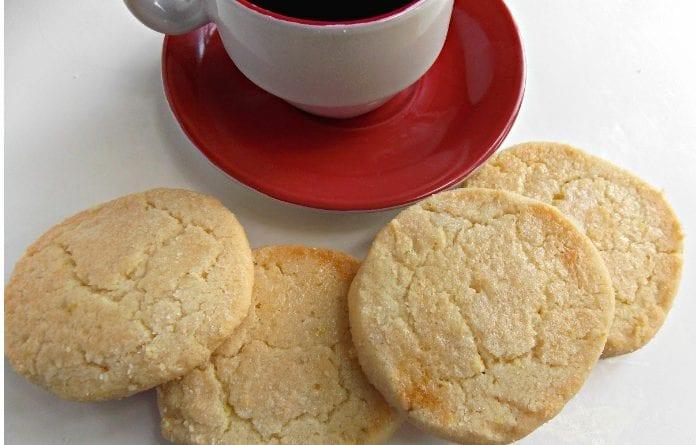 Disfrute de este delicioso dulce con una taza de café.