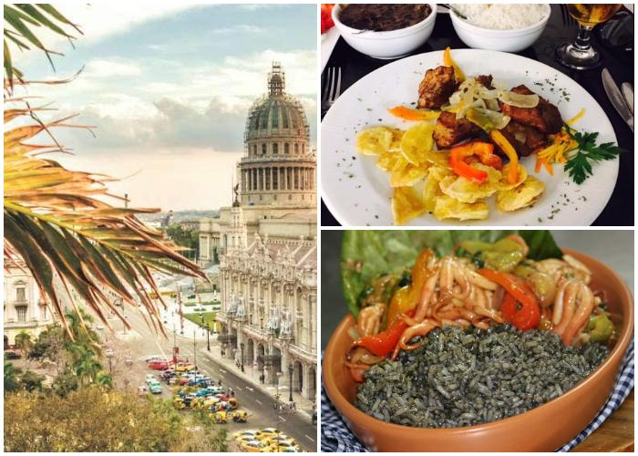 Disfrute de exquisitos platos en La Habana.