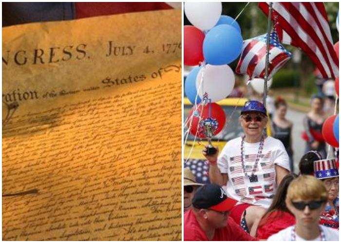 El 4 de julio del año 1776, el Congreso Continental decide adoptar la Declaración de Independencia de EEUU