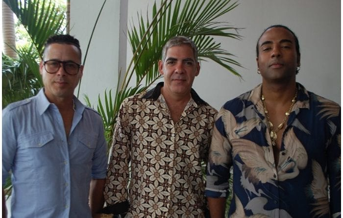 El grupo cubano Orishas.