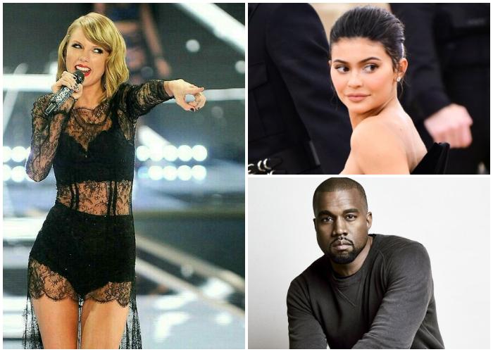 En el listado de Forbes, dos miembros del team Kardashian siguen a Swift.