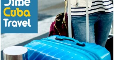 Viajando con DimeCuba a La Habana, el equipaje es completamente gratis.