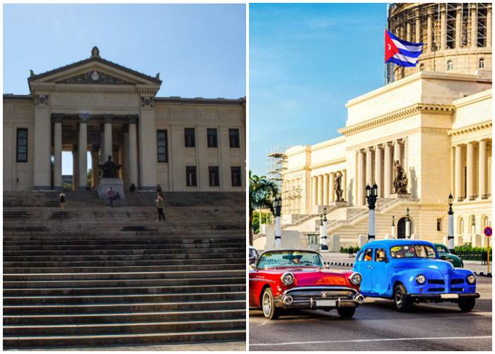 Visitar las diferentes edificaciones históricas es una de las actividades más recomendadas en La Habana.