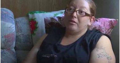 Dannette Glitz, madre de los trillizos.