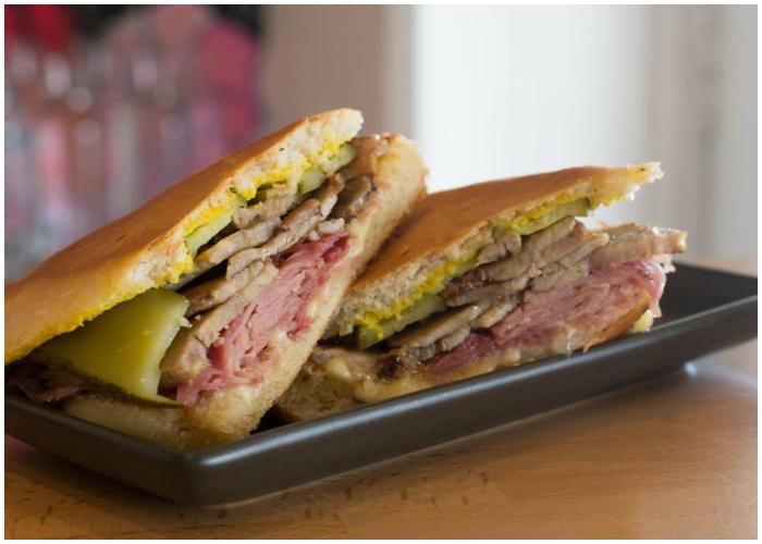 Delicioso Sándwich Cubano, hecho en Australia.