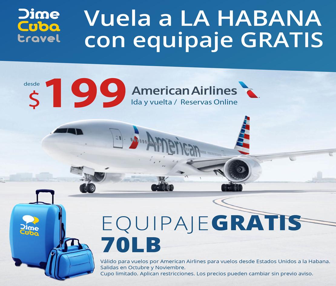 DimeCuba Travel te lleva a La Habana por un increíble precio.