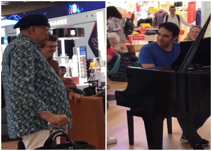 Encuentro entre Chucho Valdés y un pianista israelí.