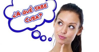 ¿Y a ti a qué te sabe Cuba_