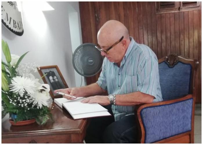 El escritor cubano Miguel Barnet.