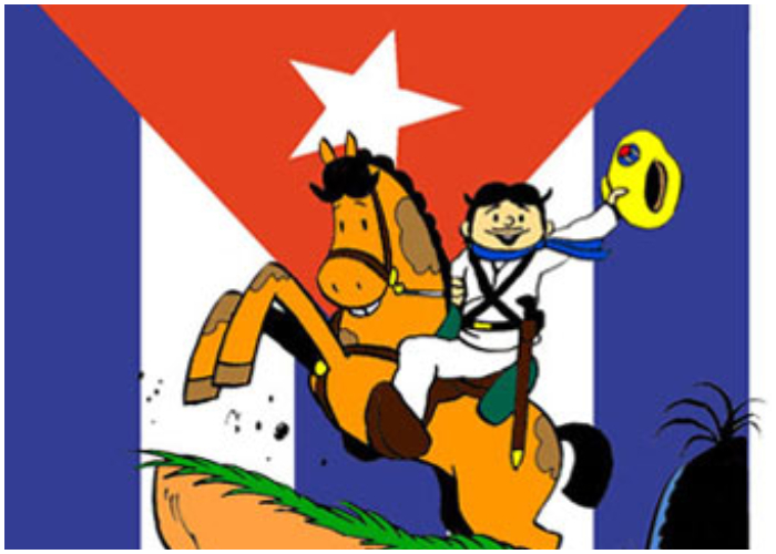 Elpidio Valdez, una de las más populares creaciones de Padrón.