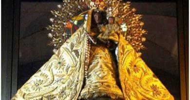 Imagen de la Virgen de la Caridad del Cobre.