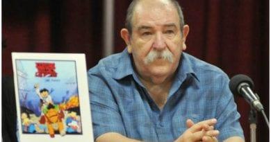 Juan Manuel Padrón Blanco destacado caricaturista e ilustrador cubano.