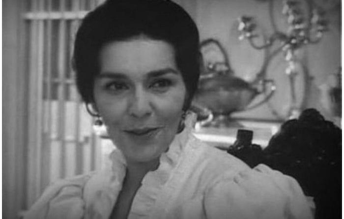 La destacada actriz cubana Raquel Revuelta.