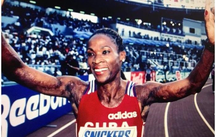 La reconocida atleta antillana Ana Fidelia Quirot Moret.