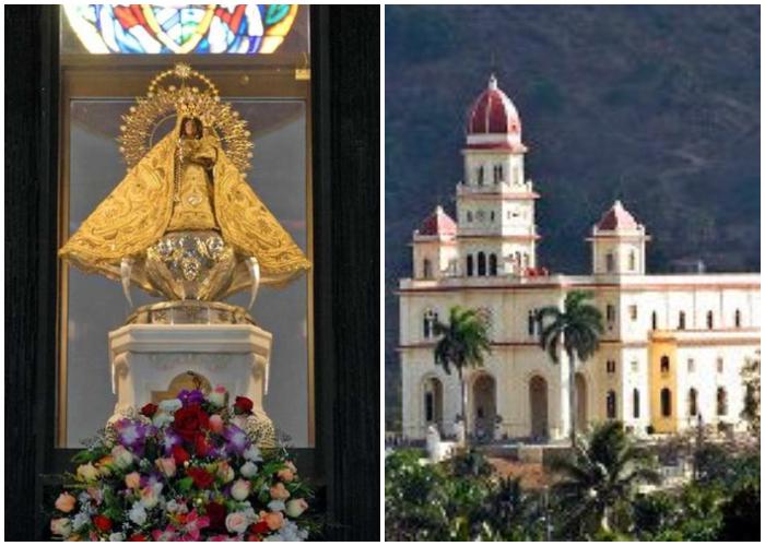 Santuario de la Virgen de la Caridad del Cobre, patrona de Cuba.