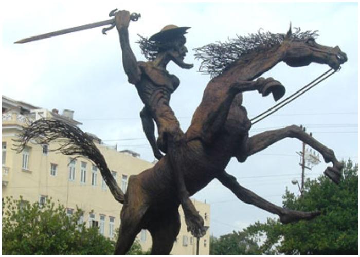 El Quijote de América.