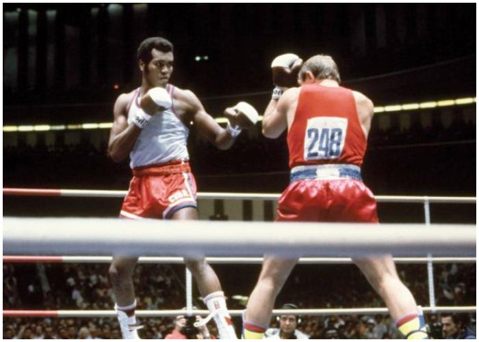 El destacado boxeador cubano Teófilo Stevenson.