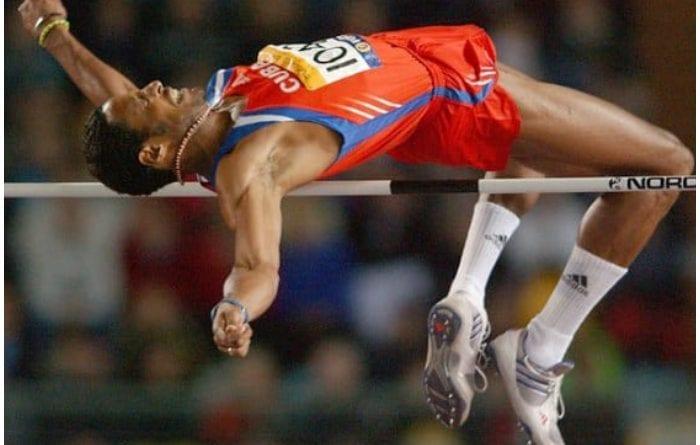 El record mundial en salto, Javier Sotomayor Sanabria.