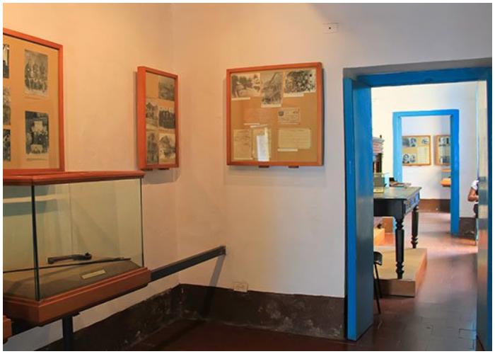 En el Museo Casa Natal de Martí se encuentran expuestos documentos y objetos del insigne héroe cubano.