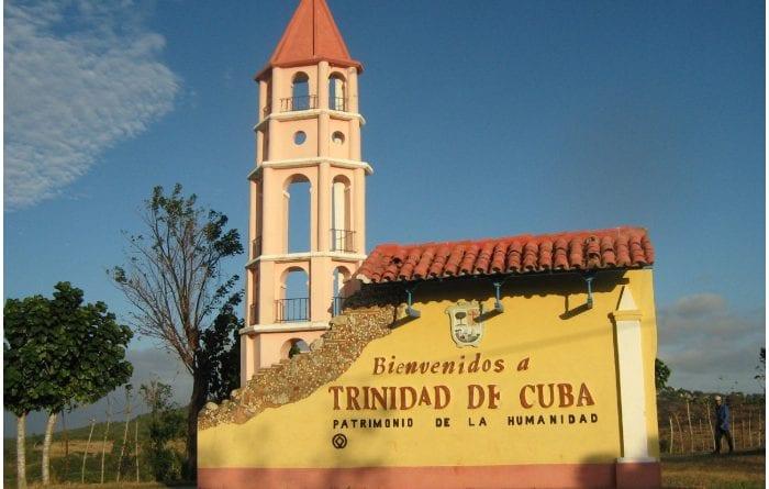 Entrada de la ciudad de Trinidad, en Cuba.