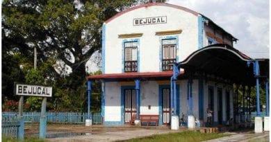 Estación de Ferrocarril de Bejucal.