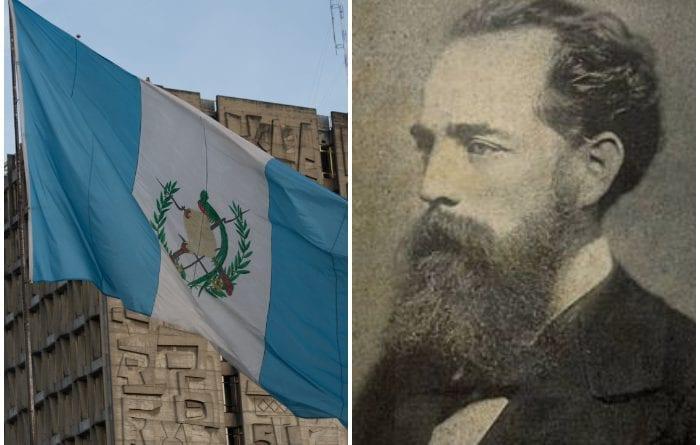 José Joaquín Palma, primer autor del Himno Nacional de Guatemala.