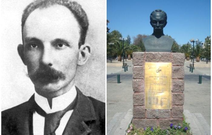 José Martí, Apóstol de la Independencia de Cuba.