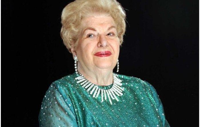 La actriz cubana Carmen Montejo.
