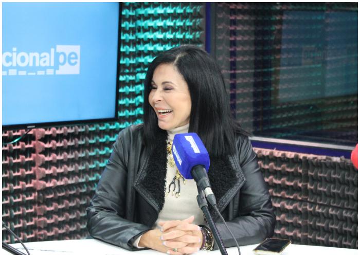 La actriz y cantante María Conchita Alonso.
