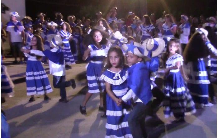 Baile del Bando Azul.