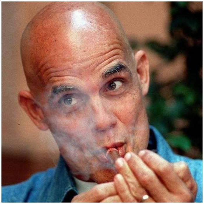 El escritor y periodista cubano Pedro Juan Gutiérrez.