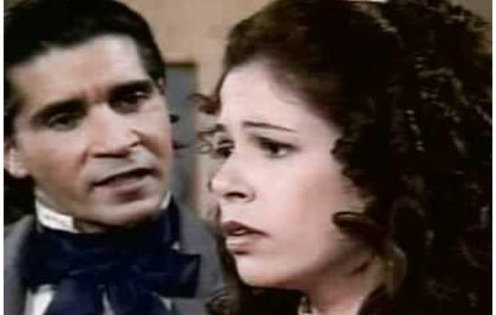 Escena de la telenovela Las huérfanas de la Obra Pía.