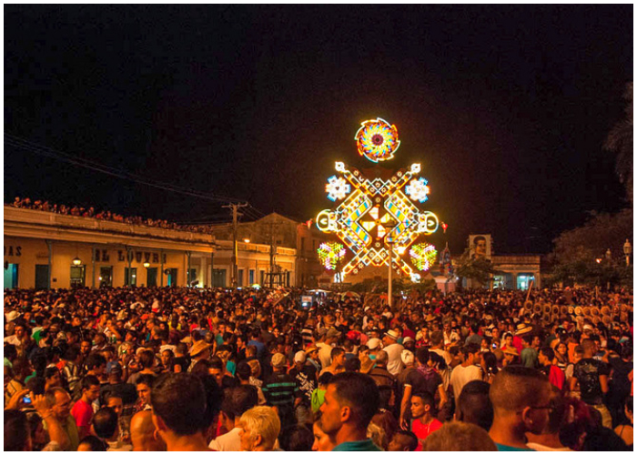 Gran cantidad de personas participan de esta gran fiesta.