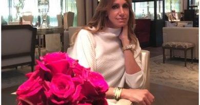La modelo y presentadora cubana Lili Estefan.
