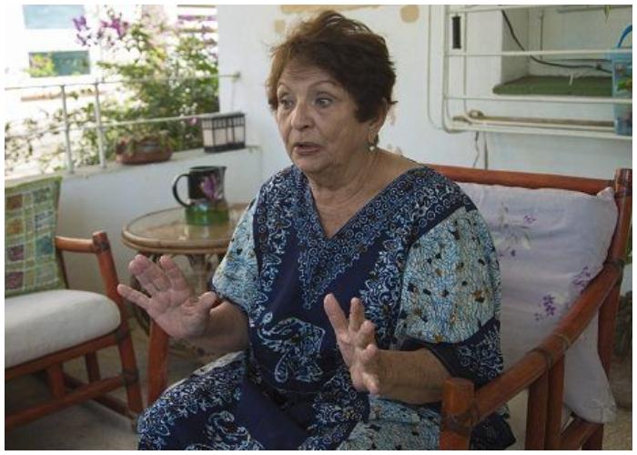 Paula Alí, una de las protagonistas de la novela.