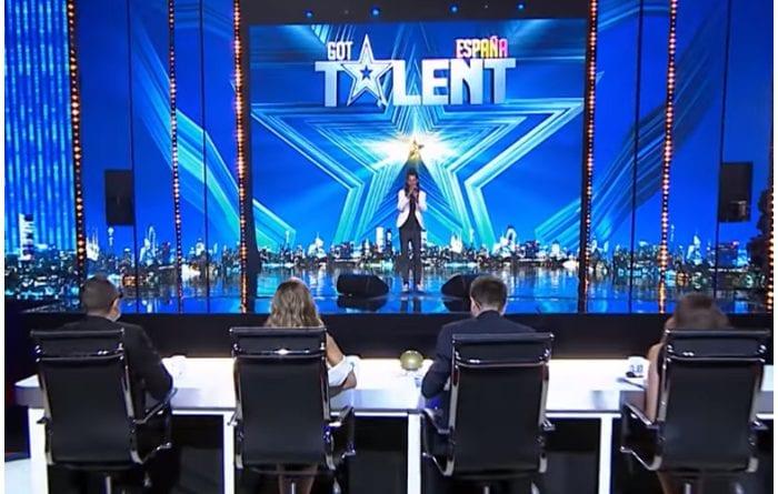 Sion durante su presentación en Got Talent España.