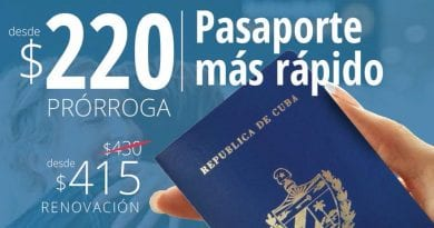 Renovar Pasaporte Cubano