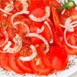 preparar ensalada de tomate lechuga y cebolla