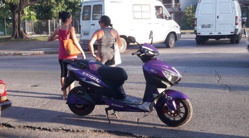 Motos electricas bateria litio Cuba