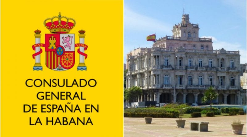 visa Embajada España Cuba