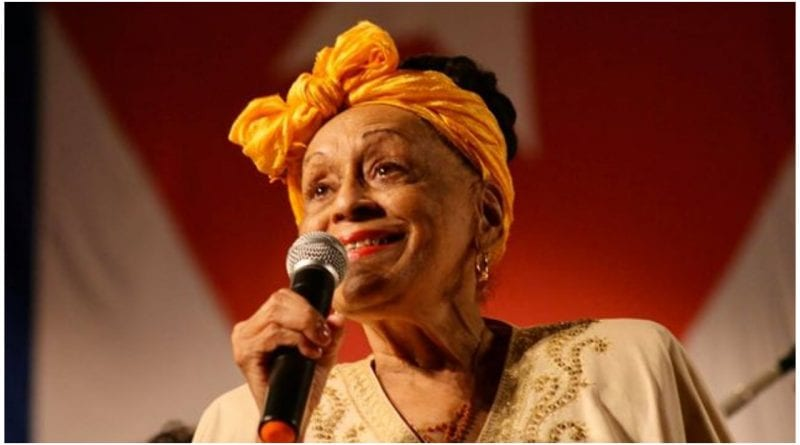 Omara Portuondo canta coronavirus