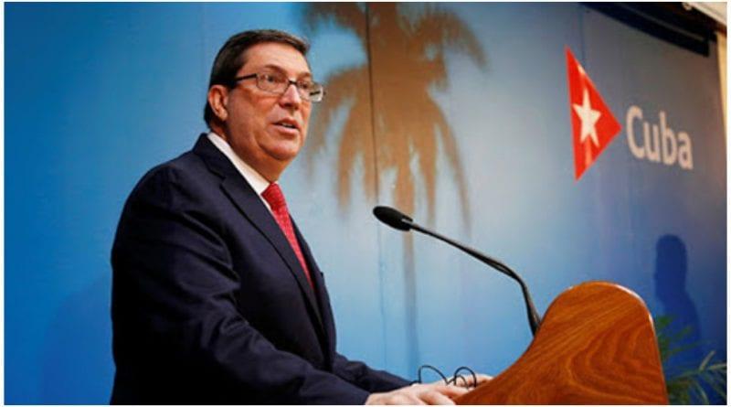 Bruno Rodriguez tiroteo embajada